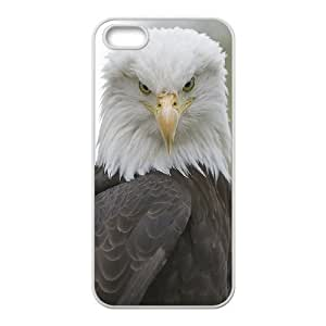 American Bald Eagle Unique Design Cover Case with Hard Shell Protection for Iphone 5,5S Case lxa#823224
