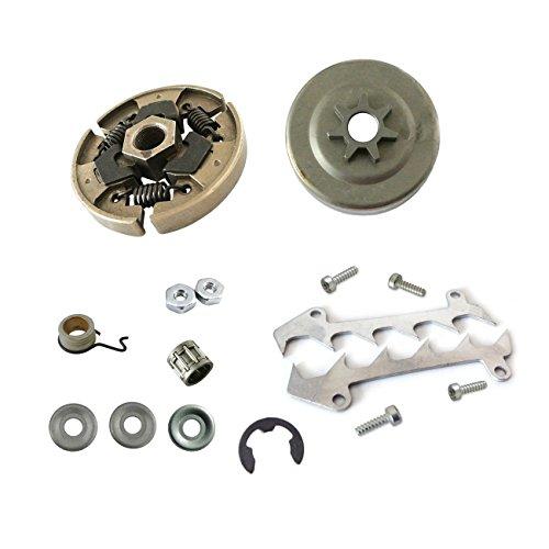 JRL Clutch Gasket Drive Bumper Sprocket Drum W/Bearing Clutch Gasket Kit Set For STIHL MS250 MS230 025 Drum Drive Gear