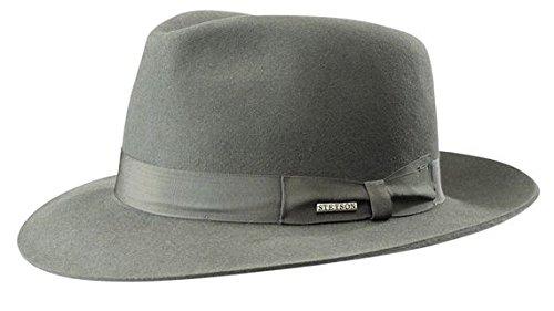 Stetson - Sombrero de Vestir - para Hombre Gris Gris Medium  Amazon.es  Ropa  y accesorios 0b933b43de1