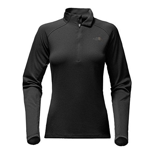 Zip Impulse 1/4 Shirt - The North Face Women's Impulse Active 1/4 Zip TNF Black (Prior Season) Small