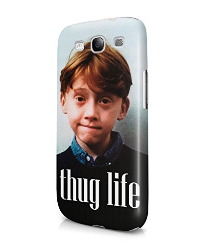 Ron Weasley Thug Life Plastic Snap-On Case Cover Shell For Samsung Galaxy S3