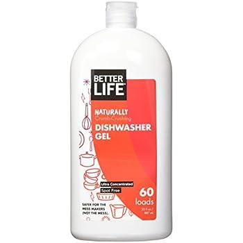 Better Life Dishwasher Gel, 30 Ounces 24074