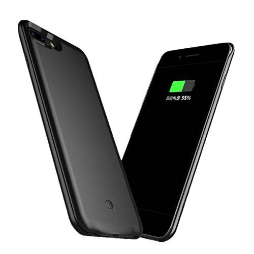ポイント水を飲む導体iPhone7Plus バッテリーケース 超薄 超軽量 バッテリー内蔵ケース 大容量 急速充電 ケース型バッテリー (iphone7plus)