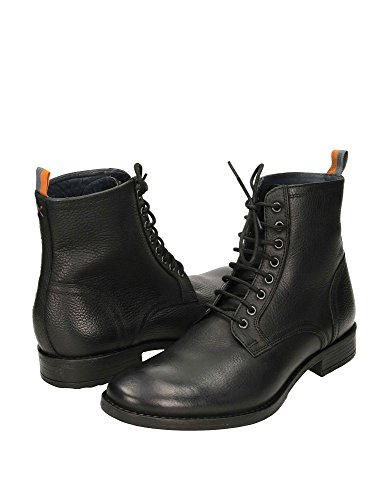 Frank Wright Mens Birch Mens Black Leather Boots Leather nero