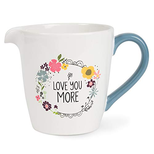 Pavilion Gift Company 54219 Measuring Cup White