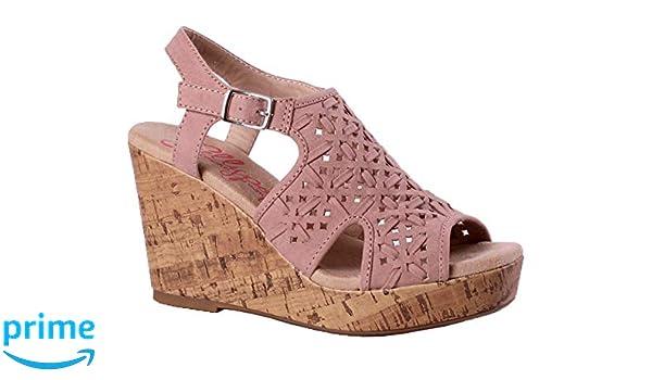 22a57bbe4c28 Amazon.com  Jellypop Ariel Blush (8)  Shoes