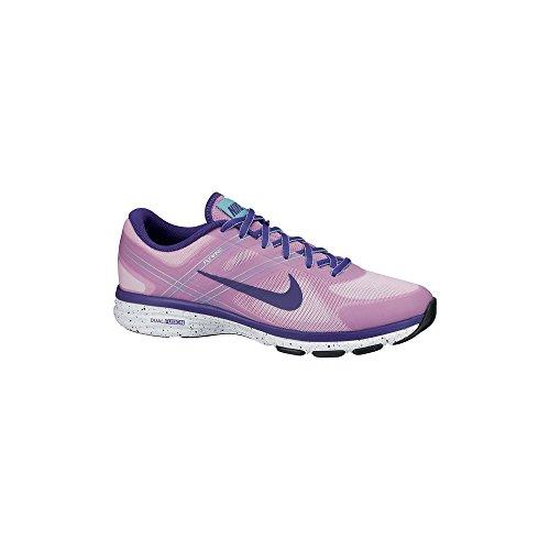 Nike Dual Fusion Training 2 - Zapatillas de gimnasia para mujer Mehrfarbig (Lt Mgnt/Crt Prpl-Hypr Trq-Hypr)