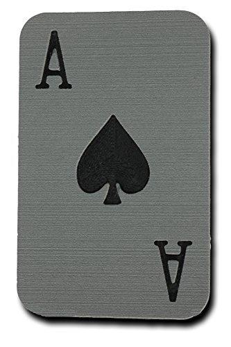 Toejamr Snowboard Stomp Pad - ACE of Spades - Gray (Canada Stomp Pad)