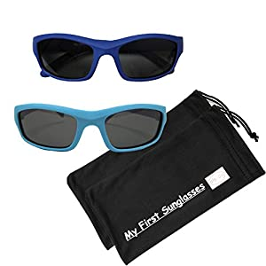 MFS-S/S-110mm-Navy Blue and Light Blue (Polarized 2 Pack)