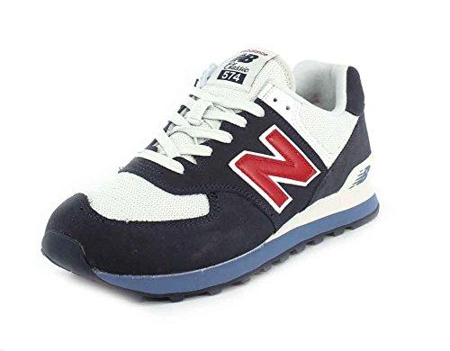 Nuovo Equilibrio Herren Ml574v2 Sneaker Navy / Peperoncino