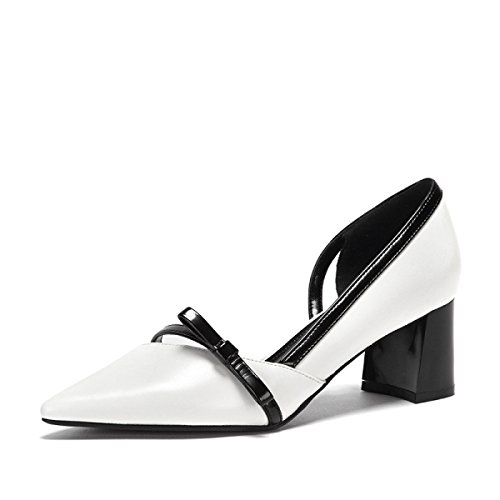 Primavera Ximu Nuovi Sandali Scarpe A Punta Appartamenti Orsay Scarpe Da Donna Pompe Comode Bianco