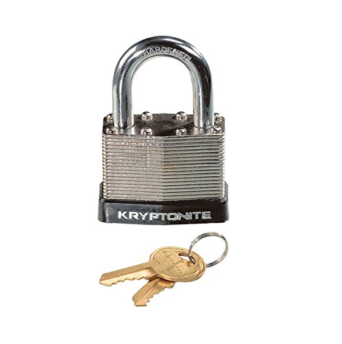 Kryptonite Laminated Steel Key Bicycle Padlock (Cover Padlock)