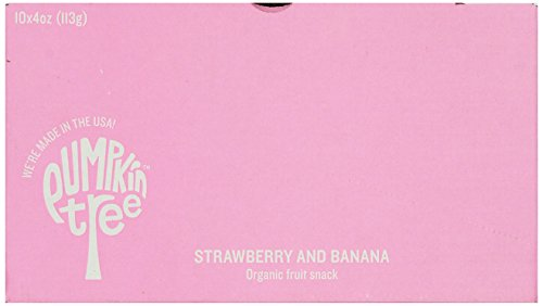 Large Product Image of Peter Rabbit Organics Strawberry and Banana 100% Pure Fruit Snack, 4 Ounces Squeeze Pouch, (Pack of 10)