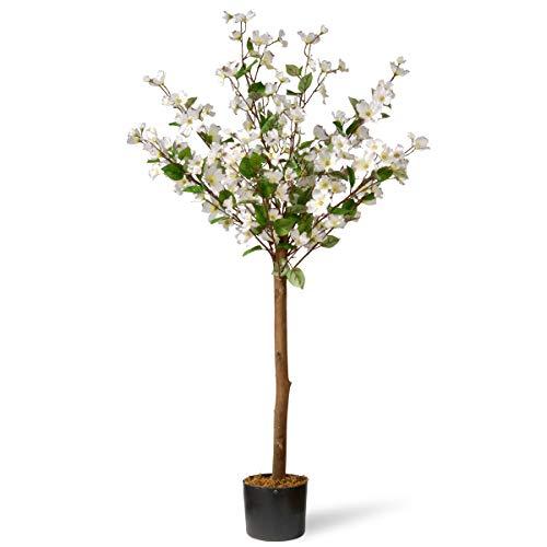 National Tree 4 Ft. Dogwood Tree White