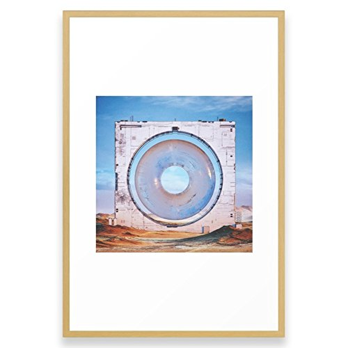 Society6 OOO.OOO (everyday 04.10.16) Framed Print Conservation Natural LARGE (Gallery) by Society6