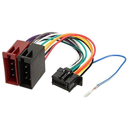 Cable adaptador ISO para radio de coche Pioneer 23x10mm 16 pines TechExpert product image
