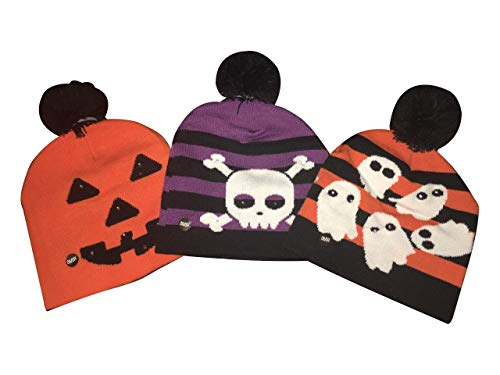 Fun Central BD027, 3 Pcs Assorted Ghost Pumpkin