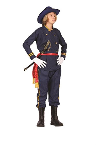 OvedcRay Union Officer Teen Costume Civil War Soldier General Army Teenage -