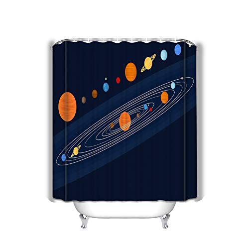 - Bizhangshpoing Bath Shower Curtain Dog Astronaut Space Pattern Seamless pet Spaceman Background Puppy Cosmonaut Costume Universe textire Dog Astronaut Space Pattern 60 x 72 Inches
