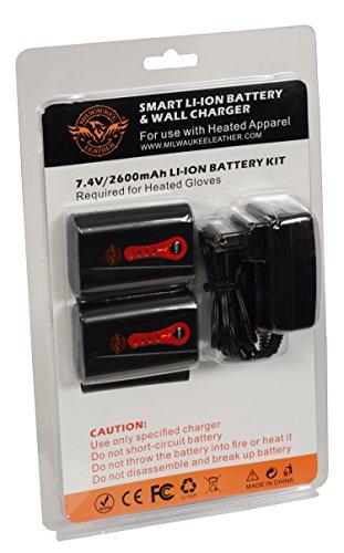 Milwaukee Leather BATTERYGLOVE Universal Twin Battery Pack (for Gloves) by Milwaukee Leather (Image #6)
