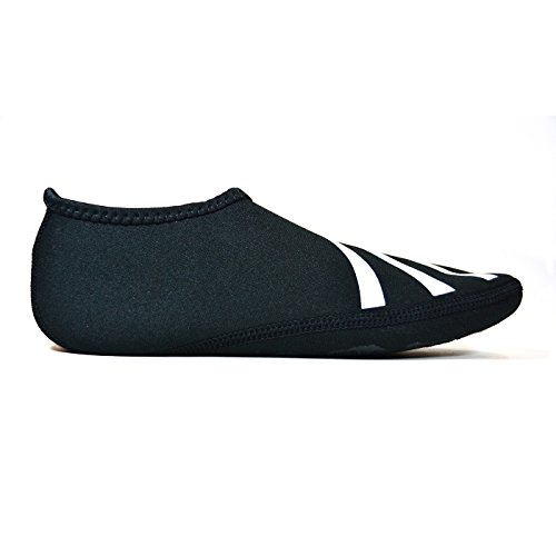 Black Shoes Nufoot Black Medium Indoor Slipper Nu Sporty Womens qF86q