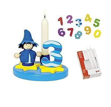 Goki geburtstagskind pequeño niño quemar Cumpleaños (Números ...