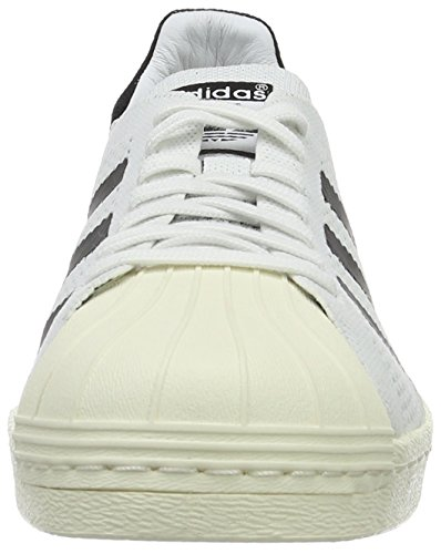 Uomo Superstar 80s Primek Bianco adidas Scarpe Black Sportive White Mesh 5q7Xfddw