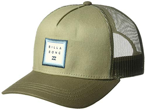 (Billabong Men's Stacked Trucker Hat Stone One Size)