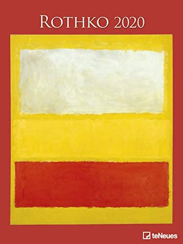 Rothko - Kalender 2020 - teNeues-Verlag - Kunstkalender - Wandkalender mit abstraktem Expressionismus - 48 cm x 64 cm