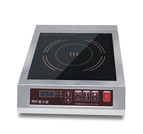 Mai Cook Stainless Steel 3500W Electric Induction Cooktop, Electric Countertop Burners by Mai Cook