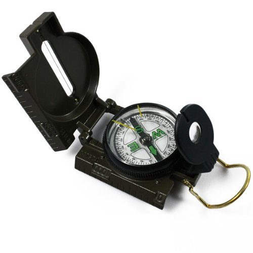 ng Army Camping Survival Lens Lensatic Compass (Lensatic Lens Compass)