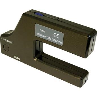 Silverline 568917 - Detector de voltaje y metal (1 x 9 V (PP3)): Amazon.es: Industria, empresas y ciencia