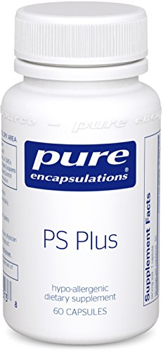 Pure Encapsulations - PS Plus - Hypoallergenic Formula for Memory, Mental Processing and Overall Cognitive Function* - 60 (Memory Plus Formula)