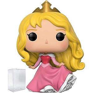 41QruLXJ9hL. SS300 Funko Pop! Disney Princess: Sleeping Beauty - Aurora Vinyl Figure (Includes Pop Box Protector Case)