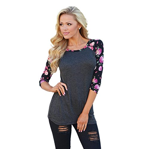 Usstore Blouse Floral Printing T Shirt product image