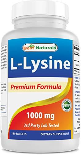 Best Naturals Lysine 1000mgDouble