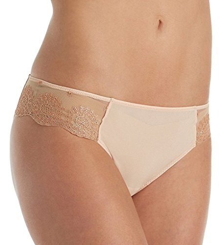 La Perla Moonstone Medium Brief Bikini Panty (12670) M/Nude/Copper (La Perla Nylon Briefs)