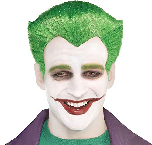 (SUIT YOURSELF Batman Classic Joker Wig for Adults, One Size, Features Green Synthetic Hair Styled Like The Classic)