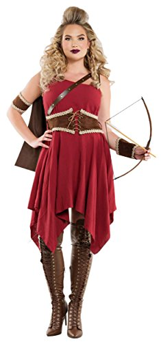 [Hooded Huntress Adult Costume - X-Large] (The Huntress Arrow Costume)