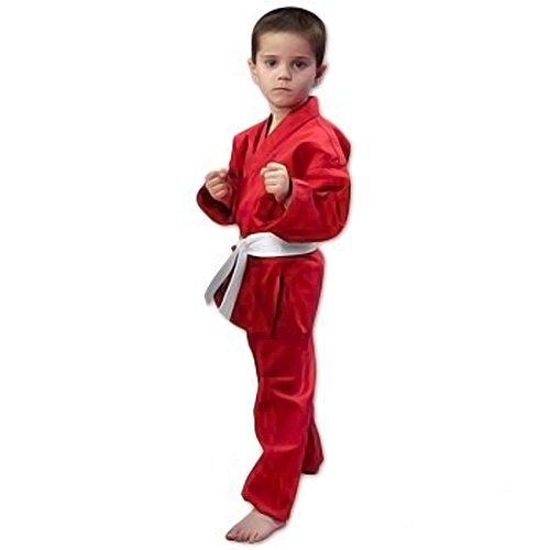 ProForce 6oz Student Karate Gi / Uniform - Red - Size 000