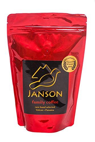 Janson Family Gourmet Ground Coffee - Medium Roast - 100% Arabica - Resealable 320g Bag with freshness valve