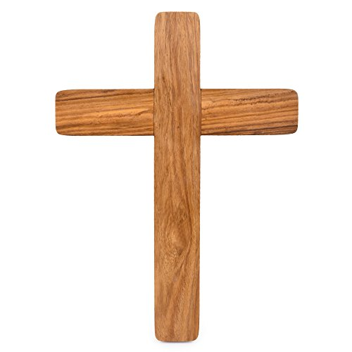 Hashcart Rosewood Jesus Christ Cross/Wooden Crucifix Wall Cross/Christian Cross/Wall Crucifix Catholic/Wall Mounted Cross/Rosewood Crucifix for Home, Church and Chapel Decoration - 11 Inch