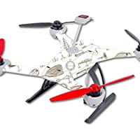 Skin For Blade 350 QX3 Drone – Retro Lures | MightySkins Protective, Durable, and Unique Vinyl Decal wrap cover | Easy To Apply, Remove, and Change Styles | Made in the USA
