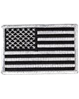 Patch Ecusson Brodé US Army Urban - Thermocollant - Bras Gauche - USA Flag - Airsoft - Paintball - Outdoor