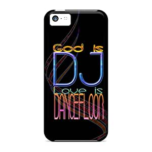 Fashion Tpu Case For Iphone 5c- Music Defender Case Cover