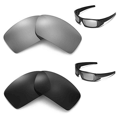 New Walleva Polarized Titanium + Black Lenses For Oakley - Gascan Transition Oakley Lenses