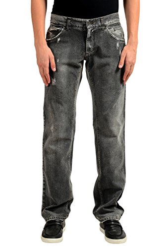 Dolce & Gabbana Men's Gray Straight Leg Jeans US 30 IT 46 - Dolce & Gabbana Straight Leg Jeans