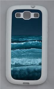 Samsung Galaxy S3 I9300 Cases & Covers - Waves Crashing TPU Custom Soft Case Cover Protector for Samsung Galaxy S3 I9300 - White