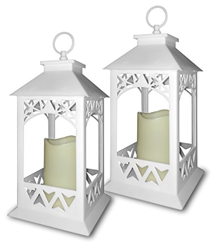 White Lanterns Decorative Outdoor Lantern product image
