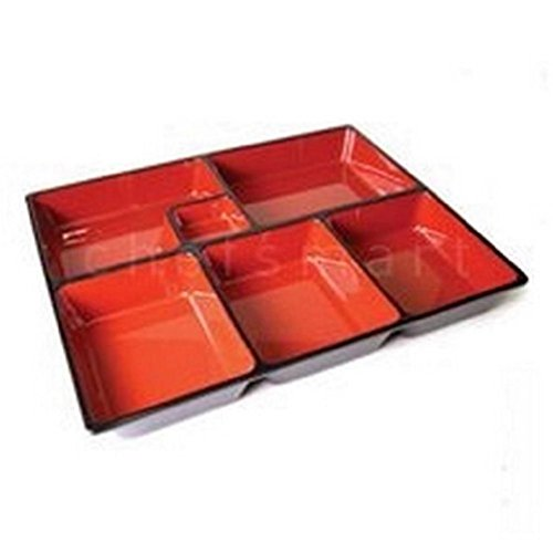 Access 10X Japanese Bento Box Sushi Tray W/Divider Wz12-B/D S-1594X10 save